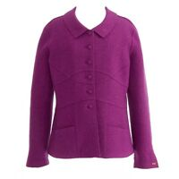 ORIGINAL CHANEL JACKET BLAZER  in RASPBERRY COLLOR   FR-34  US 2