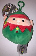 NEW  Squishmallow 3.5 inch clip Christmas Holiday Clip Elf