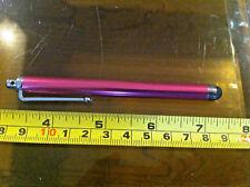 Stylus Pen Escudete Para Ipad Tablet Ebook Reader Repuesto etc. Brillante Rosa Brillante