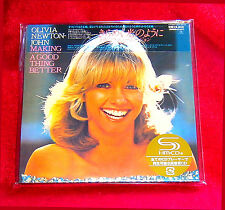 Olivia Newton John Making A Good Thing Better JAPAN SHM MINI LP CD UICY-94714