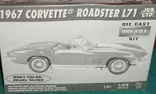 JEB 1967 CHEVY CORVETTE COUPE ASSEMBLY KIT 1/24 SKILL LEVEL 2 SILVER