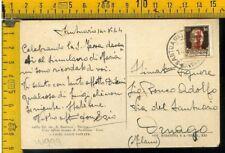 RSI francobollo soprastampato isolato annullo Santuario Savona W 999