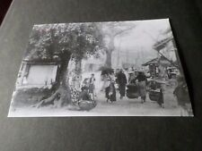 CP CARTE POSTALE PHOTO OLD HANOI, IN FRONT OF THE HOM MARKET HUE ST VF POST CARD