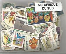 Lot de 500 timbres d'Afrique du Sud