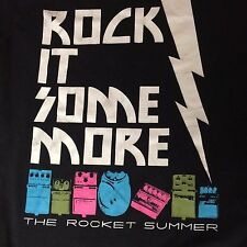 The Rocket Summer T Shirt Small Black Rock It Some More t-shirt american apparel