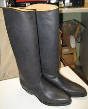 TONY MORA  746 Womens Black Riding Boots Size 35 fit size US 5 NEW