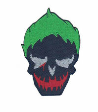 Suicide Squad The Joker Patch Iron on Applique Iron on Patch