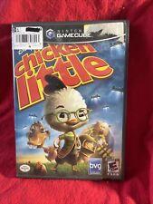 Disney's Chicken Little (Nintendo GameCube, 2005) With Instructions
