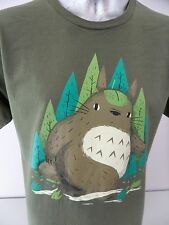 TeeFury Bigfoot Beaver Sasquatch Funny Cartoon Large T Shirt Rare Print EUC