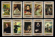 Yemen Arab Republic. Famous paintings. Rubens-Bruegel-Dyck-Ribera + MLH (BI#12)