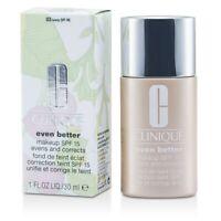 NEW Clinique Even Better Makeup SPF15 (Dry Combinatio (No. 03/ CN28 Ivory)