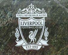 2pc Vehicle FUN decal FC Liverpool Internal Car window Sticker White