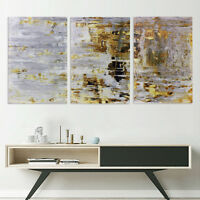 3Pcs 60x40cm Vintage Abstract Canvas Print Art Oil Painting Home Wall Decor