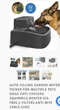 Automatic Electric Pet Cat Dog Water Fountain Drink Dish Dispenser 1.5L W/heat