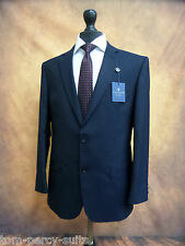 Men's Alexandre Savile Row Navy Pinstripe Suit 38S W32 L29 SS6289