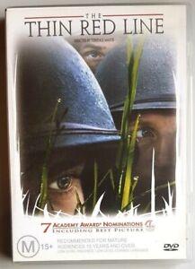 The Thin Red Line (DVD) Sean Penn - GREAT condition (Australian Region 4 PAL)