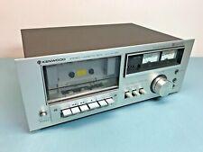 Vintage 70s 80s Kenwood Model Kx-550 Stereo Cassette Deck Beautiful!