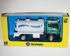 Scania Diecast Tanker Trucks