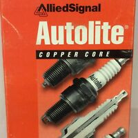 Pack of 4 - Spark Plug-Resistor Copper Autolite 646