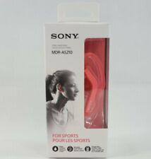 Genuine Sony MDR-AS210 Active Sport In-ear Headphones Ear-clip Music Earbuds (D6