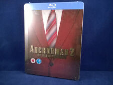 ANCHORMAN 2 Ron Burgundy - Steelbook - Bluray - Neuf - Exclusive - Will Ferrell