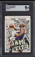 1997-98 FLEER ULTRA JAM CITY KOBE BRYANT SGC 9