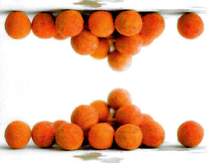 2cm DARK ORANGE Felt Balls x20.Wool.Party Decor.Pom poms.Felt Ball.Wholesale.