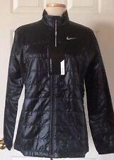 $150 NWT Womens Nike Golf 845072 Filled Thermal Full Zip Puffer Jacket Black L
