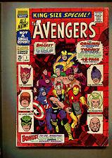 King Size Avengers #1 - Master Plan of The Mandarin - 1967 (Grade 3.5) WH