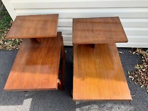 Vintage Mid Century Modern Lane End Tables