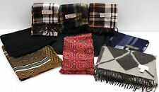 Lot of 9 Comfortable Quality Scarves Givenchy Cashmere Wool Silk + More