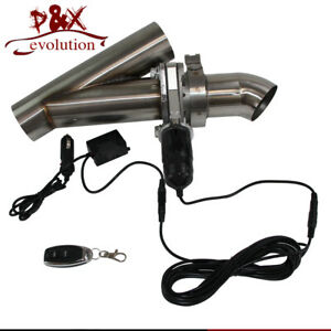 """2"""" 51mm Electric Cutout/E-Cut Out Valve Control System Exhaust Catback/Downpipe"""