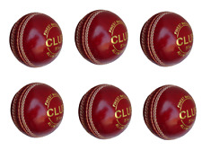 Leather Cricket Ball (Red) Age Range Adult, Free Shipping_World Wide