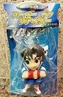 Sakura Puzzle Fighter Keychain Figure Street Pocket Collection Gem Capcom Super