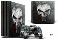 Decal Skin Wrap For PS4 PRO Playstation 4 Pro Console & Controller Stickers SKUL