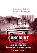 Marx et la poupée*NEUF*2017*Maryam Madjidi**GONCOURT 1er ROMAN + PRIX ROMAN 2017