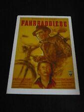 The Bicycle Thief, film card [Vittorio de Sica, Lamberto Maggionari]