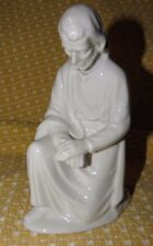 "DRESDEN ALL WHITE PORCELAIN JOSEPH FIGURINE~approx 6 1/2"" tall and beautiful!"