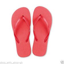 Sandalias y chanclas de mujer en rojo, talla 40