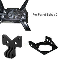 3D Printed Gopro Camera Holder Fixing Mount Bracket for Parrot Bebop 2 Drone RC