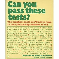 Can You Pass These Tests?