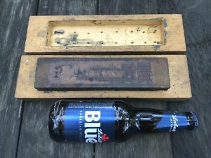 Vintage Pikes Lily White Washita Oilstone Honing Stone Full Labels /Box Razor NR