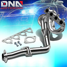 Stainless 4-1 Drag Header For Civic/Crx/Del Sol D-Series Sohc Exhaust/Manifold