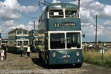 Bradford Corporation Trolleybus LHN784 Sandtoft 1974 Bus Photo