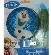 Night Light Children's Disney Frozen OLAF the Snowman