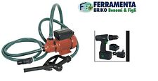 Ribitech Pompa gasolio 220V 40l/min per travaso diesel con erogatore PRKG115