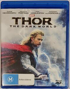 Thor The Dark World 3D Blu Ray - Region B