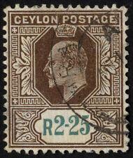 Handstamped Edward VII (1902-1910) Ceylon Stamps