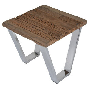Designer Railway Sleeper Side Table Cum Bedside