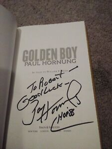 THE GOLDEN BOY PAUL HORNUNG SIGNED 1st EDITION BOOK HOF '86 GREEN BAYPACKERS